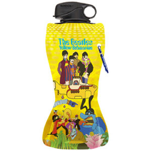 The Beatles Yellow Submarine 24 Ounce Collapsible Water Bottle