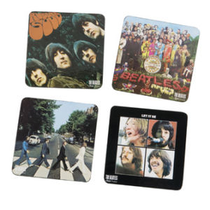 The Beatles Album Cover Coasters, Set of Four