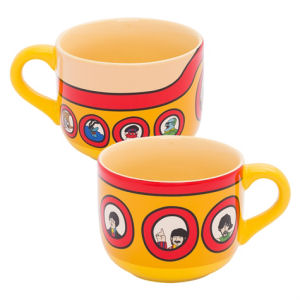 The Beatles Yellow Submarine 20 Ounce Ceramic Soup Mug
