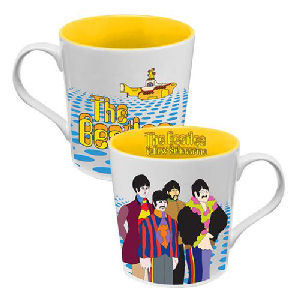 The Beatles Yellow Submarine 12 Ounce Ceramic Mug