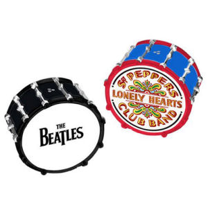 The Beatles Drums Ceramic Salt and Pepper Set