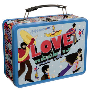 The Beatles All You Need is Love Large Lunchbox Tin Tote