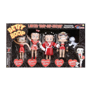 Betty Boop Bendable Figurine Boxed Set