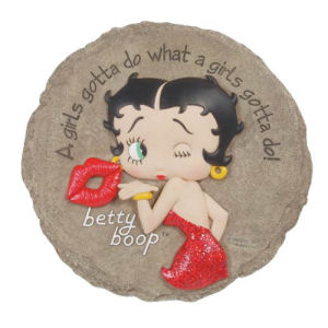 Betty Boop Girls Gotta Do Stepping Stone