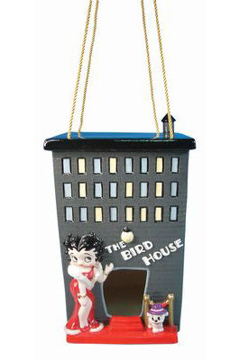 Betty Boop City Lights Birdhouse