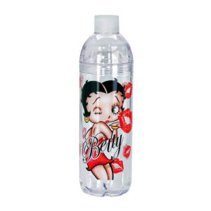 Betty Boop 24 Ounce Twist-Off Water Bottle