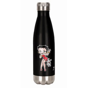 Betty Boop 18 Ounce Stainless Steel Water Bottle