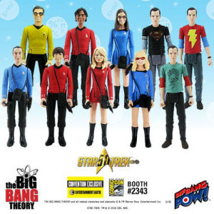 The Big Bang Theory / Star Trek The Original Series 3.75 Inch Action Figures Case Series 2 - Convention Exclusive