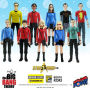 The Big Bang Theory / Star Trek The Original Series 3.75 Inch Action Figures Case Series 2 - Convention Exclusive. Some of the Sheldon action figures are numbered from 1 to 3206. Case contains 14 individually packaged action figures - 2 Sheldon -