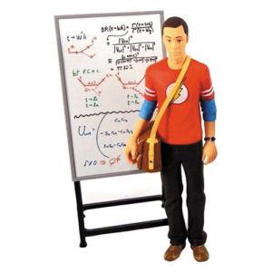 Big Bang Theory Sheldon Cooper Flash Shirt 7 Inch Action Figure
