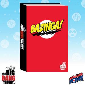 The Big Bang Theory BAZINGA! Red Journal