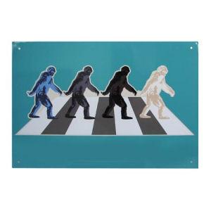 The Bigfoots Tin Sign
