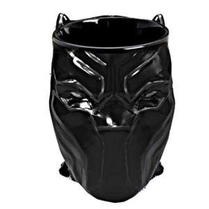 Black Panther Head 16 Ounce Molded Mug