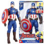 Avengers 12 inch Electronic Captain America Action Figure.Captain America reporting for duty and other various phrases.