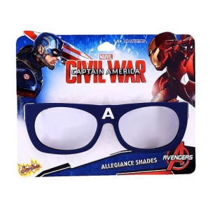 Captain America Civil War Team Cap Sun-Staches