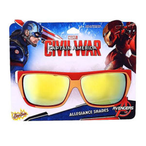 Captain America Civil War Team Stark Sun-Staches