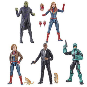 Captain Marvel Marvel Legends 6-Inch Action Figures Wave 1
