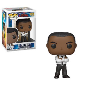 Captain Marvel Nick Fury Pop! Vinyl Figure #428