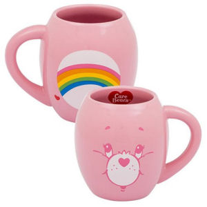 Care Bears Cheer Bear 18 Ounce Oval Ceramic Mug