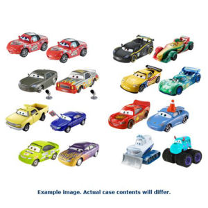 Cars 3 Character Car Vehicle 2-Pack Mix 2 Case