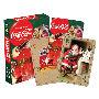 Coca-Cola Santa Playing Cards.