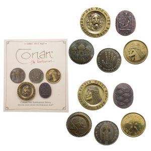 Conan Set #2 Deluxe 5 Coin Set