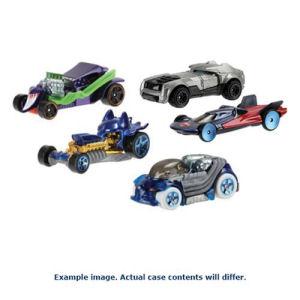 DC Comics Hot Wheels 1/64th Character Car 2017 Mix 2 Case