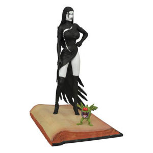 Femme Fatales Raven Hex Statue