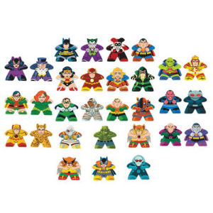 DC Comics Mighty Meeples Display Case