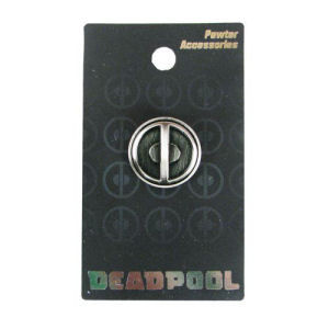 Deadpool Logo Marvel Pewter Lapel Pin