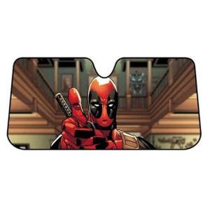 Deadpool Thumbs Up Accordion Bubble Sunshade