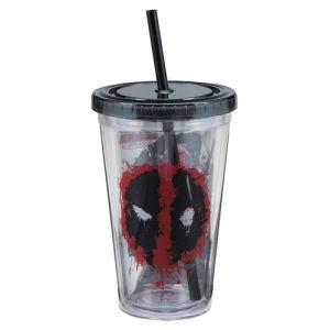 Deadpool 18 Ounce Acrylic Travel Cup