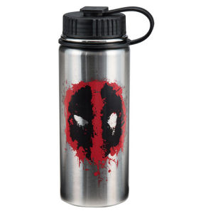 Deadpool 18 Ounce Vacuum Insulated Stainless Steel Water Bottle