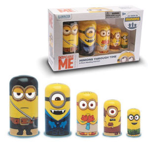 Despicable Me Minions Through Time Nesting Dolls