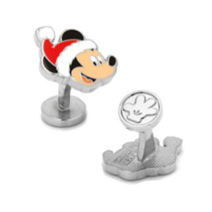 Santa Mickey Mouse Cufflinks