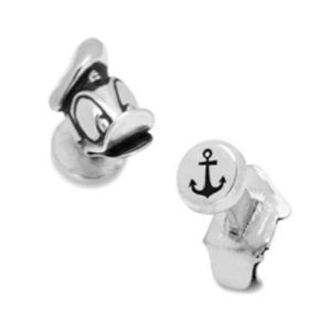 Donald Duck 3D Head Cufflinks