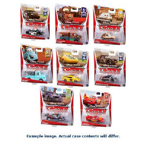 Cars Character Cars 1/55th Scale 2016 Mix 16 Case