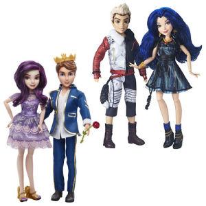 Disney Descendants Dolls Two-Pack Wave 1 Case