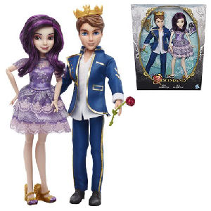 Disney Descendants Mal and Ben Doll Two-Pack