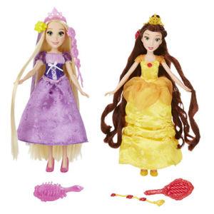 Disney Princess Classic Hair Long Locks Play Dolls Wave 1 Case