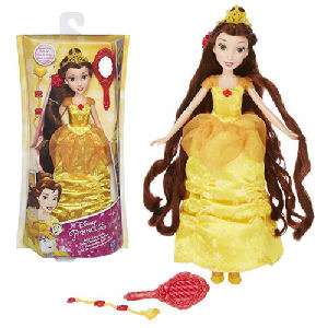 Disney Princess Classic Hair Play Belle Doll