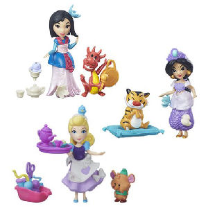 Disney Princess Small Dolls with Friends Wave 2 Case