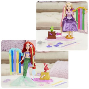 Disney Princess Deluxe Hair Play Dolls Wave 1 Case