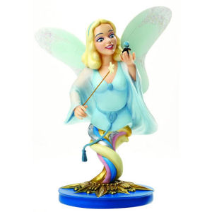 Pinocchio Blue Fairy and Jiminy Cricket Grand Jester Mini-Bust