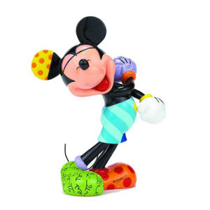 Disney Laughing Mickey Mouse Statue by Romero Britto