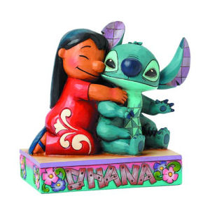 Disney Traditions Lilo and Stitch Ohana Statue