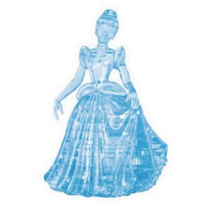 Cinderella 3D Crystal Puzzle Mini-Figure