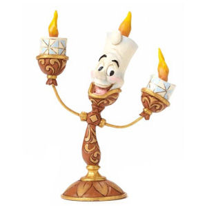 Disney Traditions Beauty and the Beast Lumiere Statue