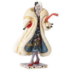 Disney Traditions 101 Dalmatians Cruella De Vil Devilish Dognapper Statue