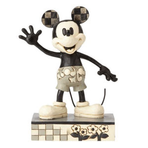 Disney Traditions Mickey Mouse Get a Horse Big Hearted Hero Statue